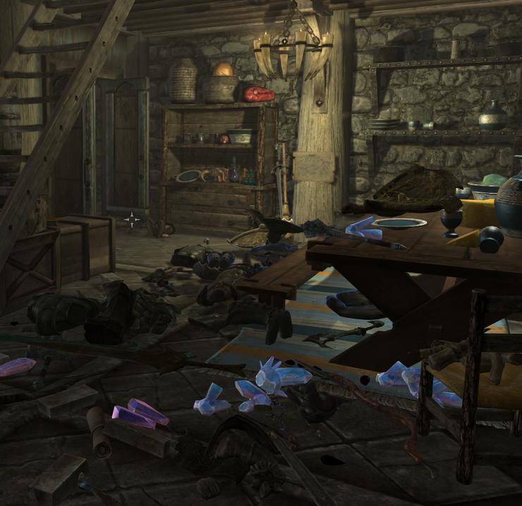 вы не играли в The Elder Scrolls,если ваш дом не выглядел так